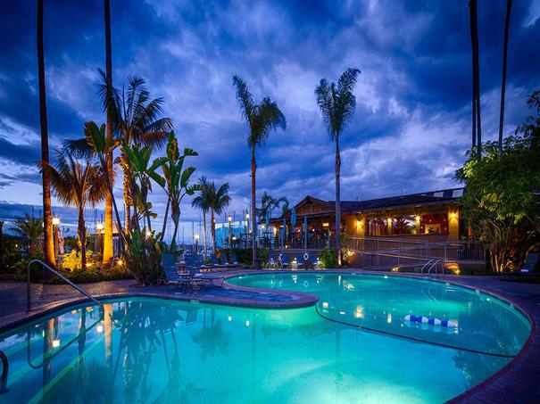 Child friendly hotels in San Diego - Best Western Plus Island Palms
