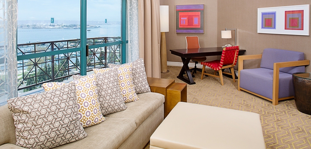 San Diego CA family hotel - Embassy Suites San Diego downtown