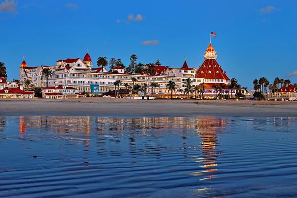 San Diego family friendly hotels - Hotel del Coronado San Diego