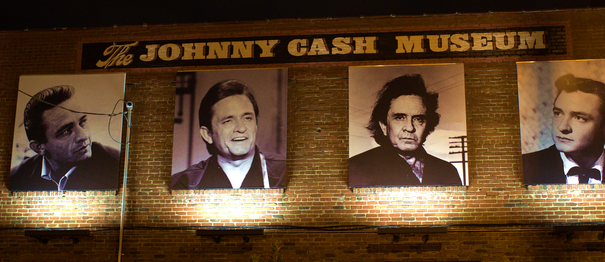 The Johnny Cash Museum. Nashville Tennessee