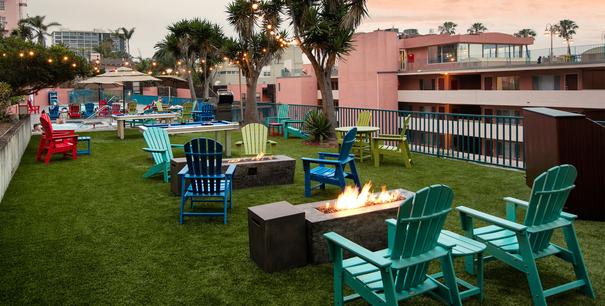 La Jolla Cove Suites Rooftop Pool