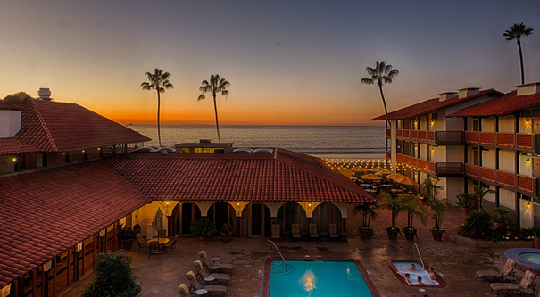 La Jolla Shores-San Diego hotels on the beach