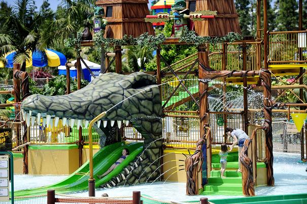 San Diego kid friendly resorts - LEGOLAND Legends of Chima Waterpark