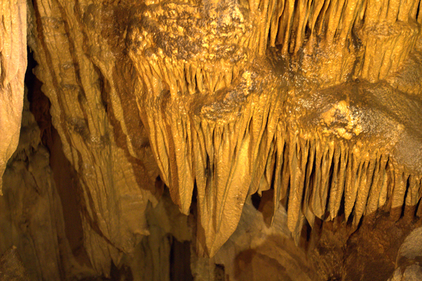 Crazy cave formations