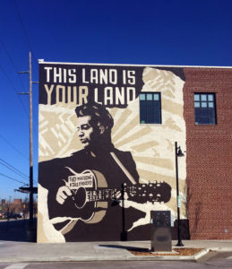 Woody Guthrie Center. Tulsa OK
