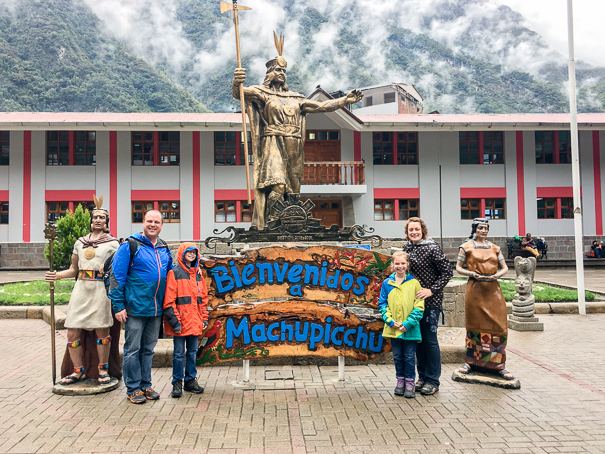 Aguas Calientes - Machu Picchu with kids