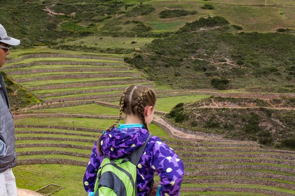 Peru with kids - Moray