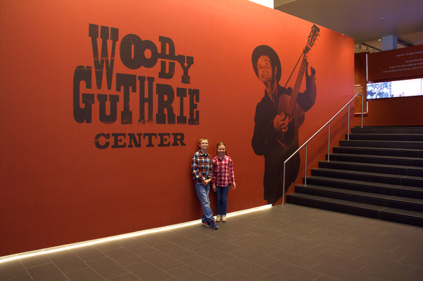 Woody Guthrie Center Tulsa Oklahoma