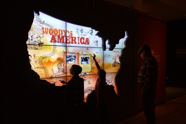 Woody Guthrie Center Interactive Map