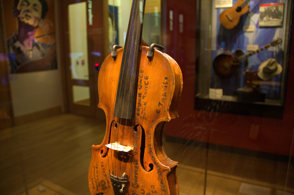 Woody Guthrie's Fiddle