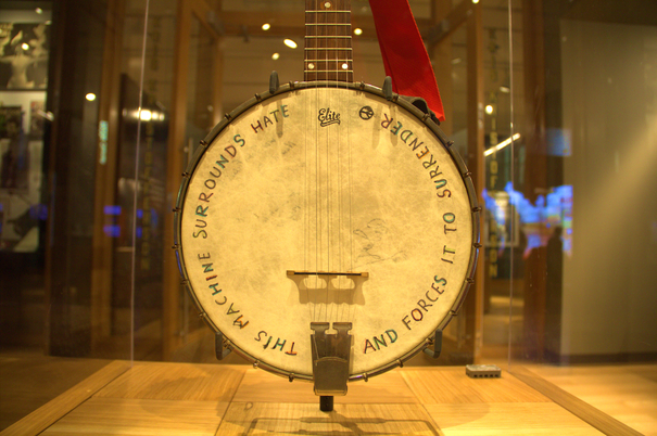 Woody's Banjo - Woody Guthrie Center