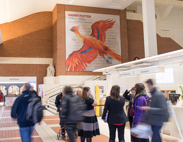 best places for kids in London - the British Library