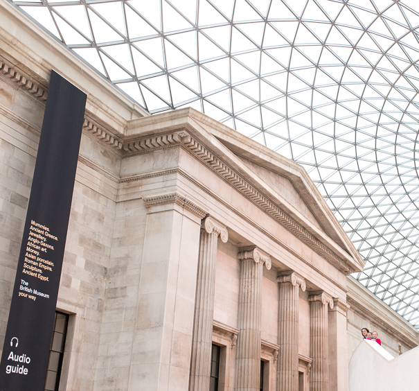 London for children - the British Museum