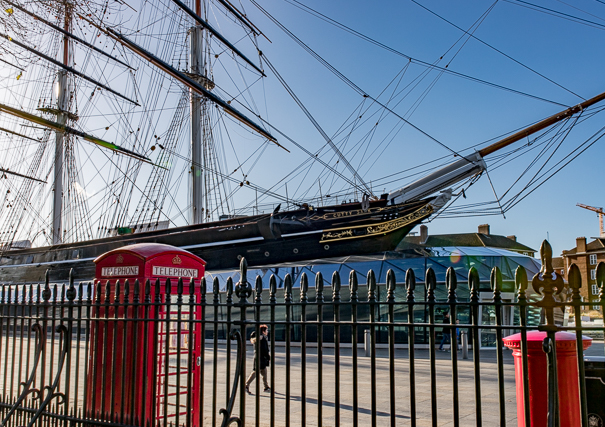 Visit the Cutty Sark in London with kids