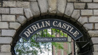 Dublin Castle Ireland with kids