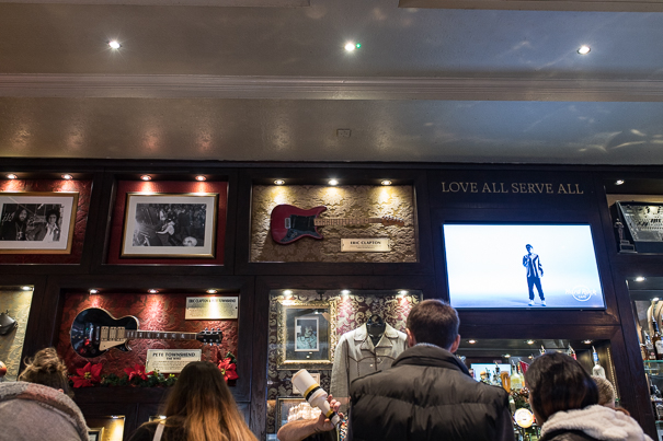 Places to go in London with kids - Hard Rock Cafe London