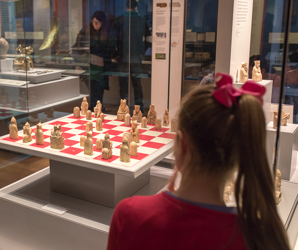 London attractions for kids - Lewis Chessmen at the British Museum