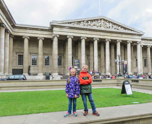 Best things to do in London with kids - visit the British Museum