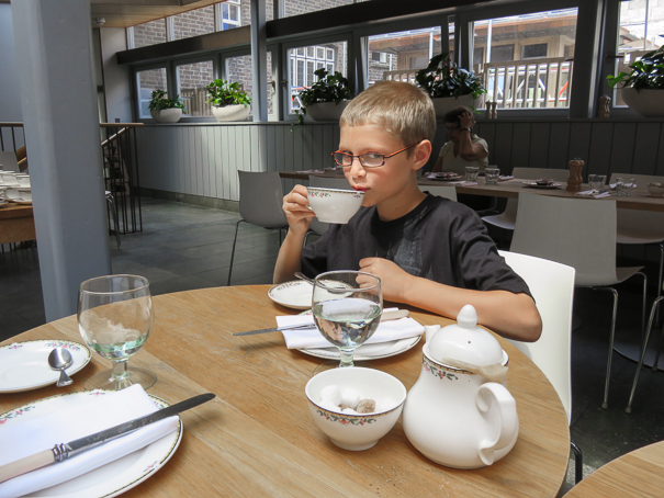 Top things to do with kids in London - afternoon tea at Cellarium Cafe - Westminster Abbey