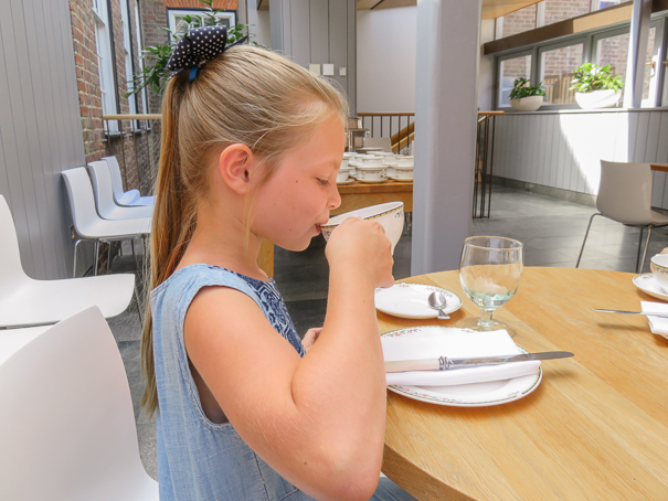 Afternoon Tea at Cellarium Cafe in Westminster Abbey - best things for kids in London