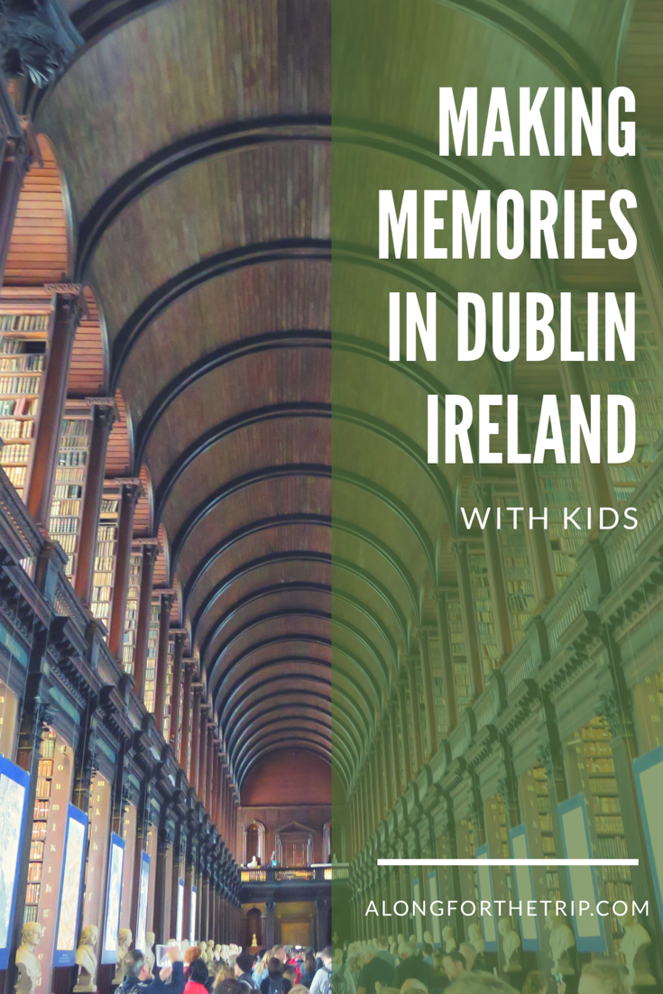 Exploring Dublin with kids couldn't be easier, and this European capital has a lot to offer traveling families. Here's what to do while you're here! #familytravel #Dublin #Ireland