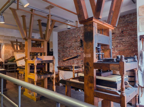 Franklin Printing Press - Independence NHP