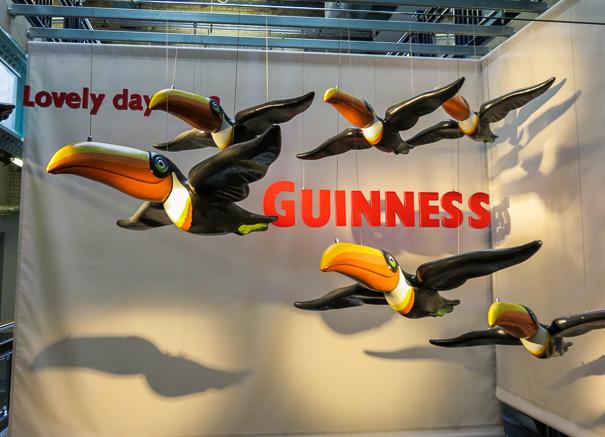 Guinness Storehouse Dublin with kids