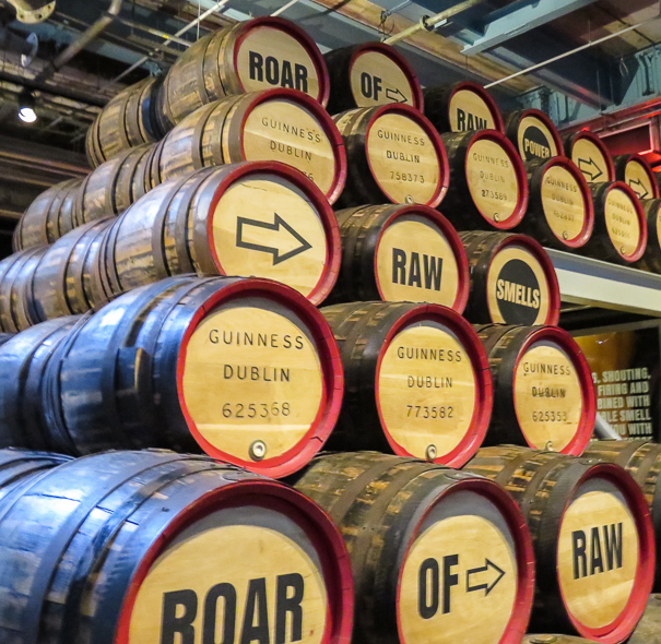 Visiting the Guinness Storehouse in Dublin with kids