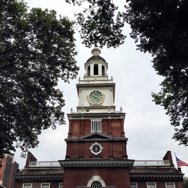 Independence Hall at Independence National Historic Park