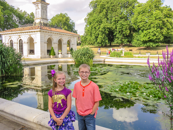 Kensington Gardens - things to do in London with kids