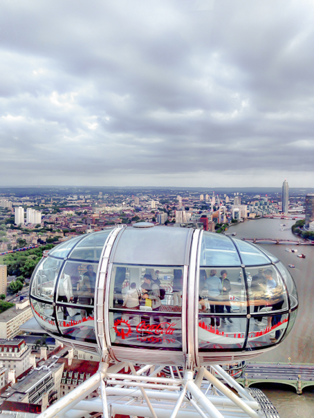 The London Eye - must do in London with kids