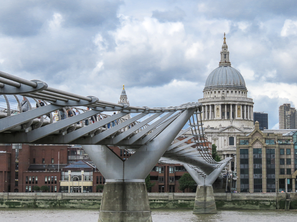 Things to do in London with kids - Millennium Bridge