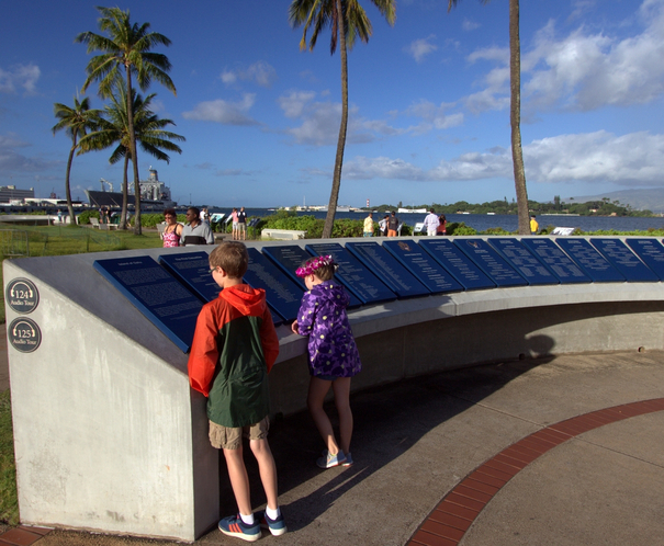 Pearl Harbor Remembrance Circle