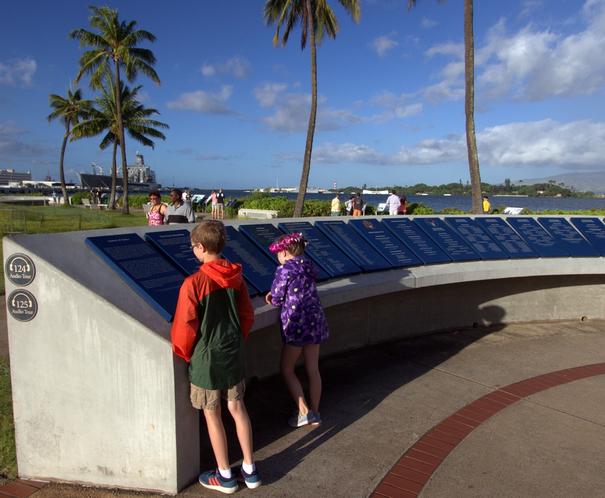 Pearl Harbor Remembrance Circle