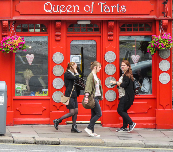 Queen of Tarts - Dublin with kids