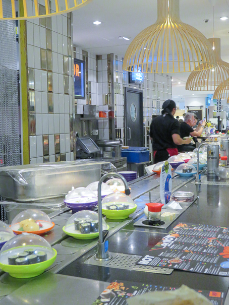 YO! Sushi - Eating in London with kids