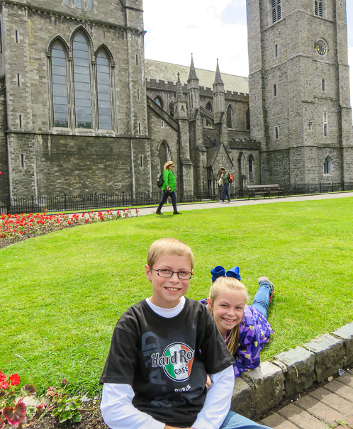 St. Patricks Cathedral - Dublin with kids