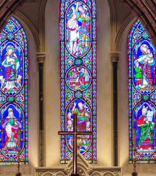 St. Patrick's Cathedral in Dublin with kids