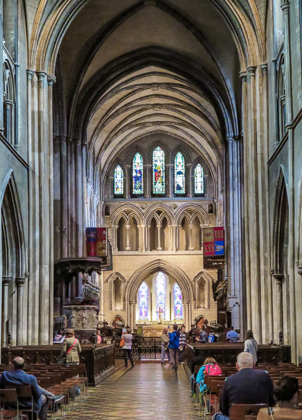 Visiting St. Patrick's Cathedral in Dublin with kids