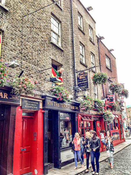 Temple Bar - best things to do in Dublin Ireland