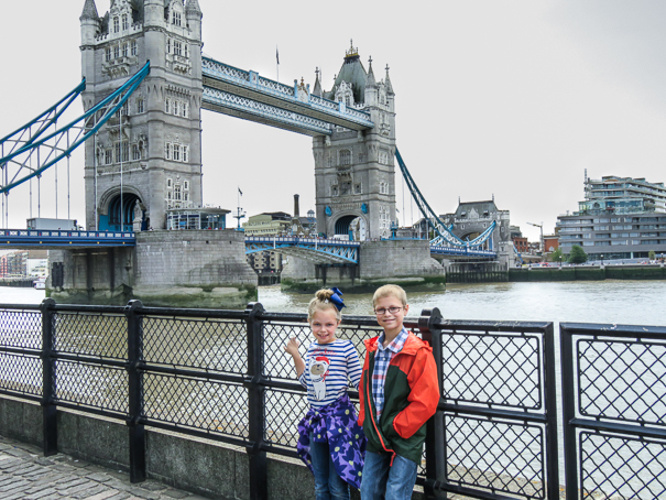The Tower Bridge - fun things for kids in London