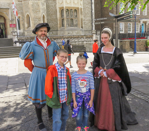 Tower of London - things to do in London with kids