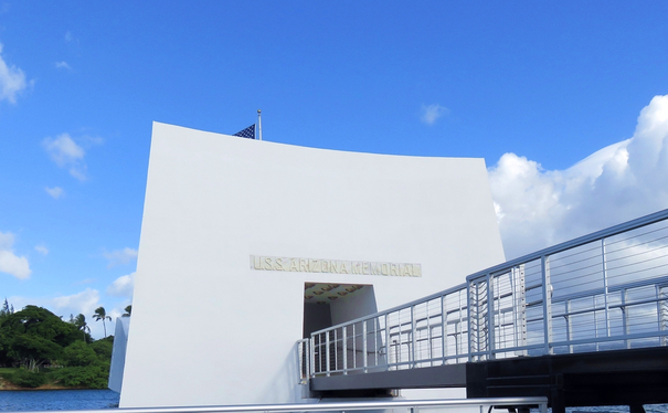USS Arizona Memorial-Pearl Harbor Hawaii