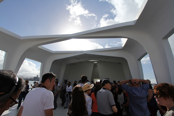 USS Arizona Memorial-Pearl Harbor
