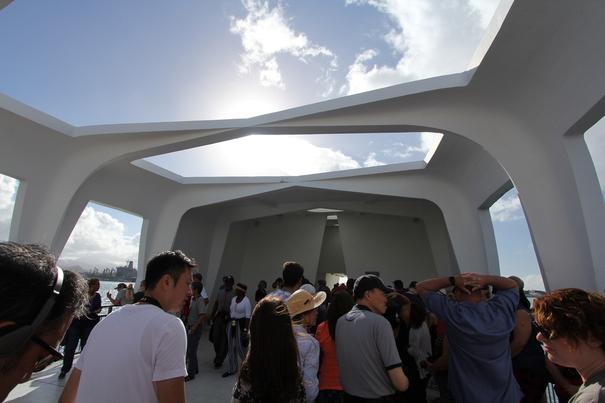 USS Arizona Memorial-Pearl Harbor