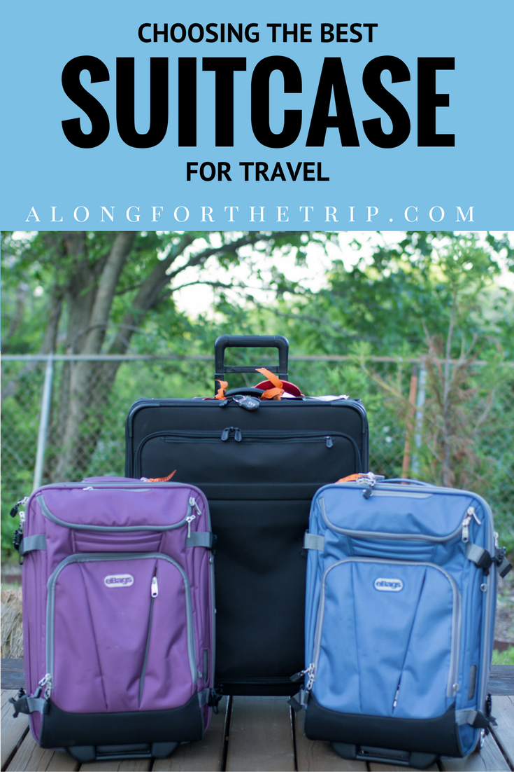 Choosing the best suitcase for travel can be time consuming, but with our suitcase comparison, it doesn't have to be! See our picks to find the best suitcase for your next trip! | #SuitcaseReview #luggage #suitcase #travel