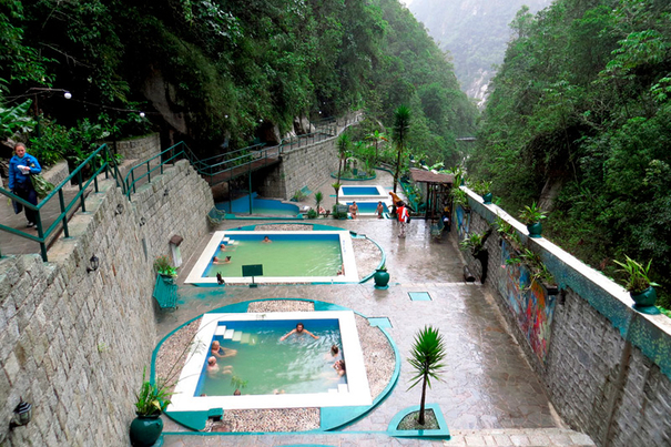 Machu Picchu Aguas Calientes Peru Hot Springs
