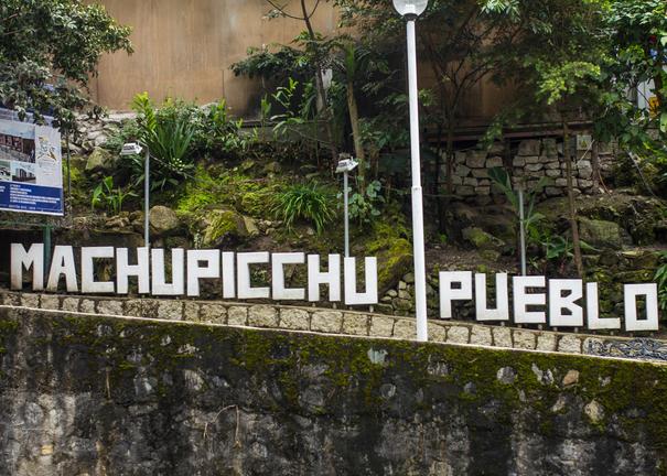 Machu Picchu Pueblo Peru