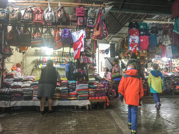 Aquas Calientes Market Machu Picchu Pueblo