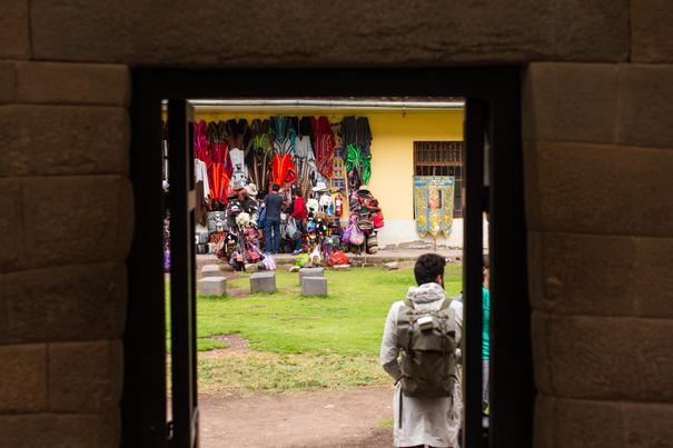 Alley in Cusco Peru